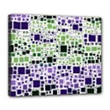 Block On Block, Purple Deluxe Canvas 24  x 20   View1