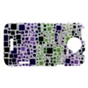 Block On Block, Purple HTC One X Hardshell Case  View1