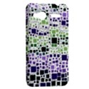 Block On Block, Purple HTC Radar Hardshell Case  View2