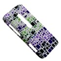 Block On Block, Purple HTC Evo 3D Hardshell Case  View5