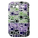 Block On Block, Purple HTC Wildfire S A510e Hardshell Case View3