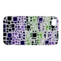 Block On Block, Purple Apple iPhone 4/4S Premium Hardshell Case View1