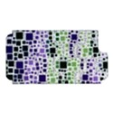 Block On Block, Purple Apple iPhone 5 Hardshell Case (PC+Silicone) View1
