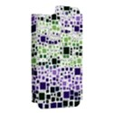 Block On Block, Purple Apple iPhone 5 Hardshell Case (PC+Silicone) View2