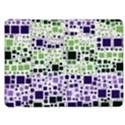 Block On Block, Purple Kindle Fire (1st Gen) Flip Case View1