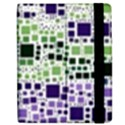 Block On Block, Purple Apple iPad 3/4 Flip Case View2