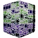 Block On Block, Purple Apple iPad Mini Flip Case View4