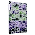 Block On Block, Purple Apple iPad Mini Hardshell Case View2