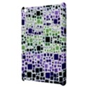 Block On Block, Purple Apple iPad Mini Hardshell Case View3