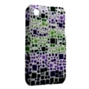 Block On Block, Purple Apple iPhone 3G/3GS Hardshell Case (PC+Silicone) View2
