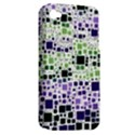 Block On Block, Purple Apple iPhone 4/4S Hardshell Case (PC+Silicone) View2