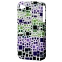 Block On Block, Purple Apple iPhone 4/4S Hardshell Case (PC+Silicone) View3