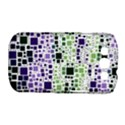 Block On Block, Purple Samsung Galaxy S III Classic Hardshell Case (PC+Silicone) View1