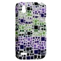 Block On Block, Purple HTC Desire V (T328W) Hardshell Case View2