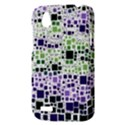 Block On Block, Purple HTC Desire V (T328W) Hardshell Case View3