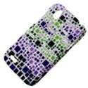 Block On Block, Purple HTC Desire V (T328W) Hardshell Case View4