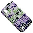 Block On Block, Purple HTC Desire V (T328W) Hardshell Case View5