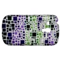 Block On Block, Purple Samsung Galaxy S3 MINI I8190 Hardshell Case View1