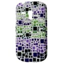 Block On Block, Purple Samsung Galaxy S3 MINI I8190 Hardshell Case View3