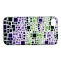 Block On Block, Purple Apple iPhone 4/4S Hardshell Case with Stand View1