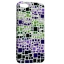 Block On Block, Purple Apple iPhone 5 Hardshell Case with Stand View2