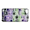 Block On Block, Purple Apple iPod Touch 5 Hardshell Case with Stand View1