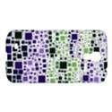Block On Block, Purple Samsung Galaxy S4 I9500/I9505 Hardshell Case View1