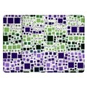 Block On Block, Purple Samsung Galaxy Tab 10.1  P7500 Flip Case View1