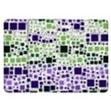 Block On Block, Purple Samsung Galaxy Tab 8.9  P7300 Flip Case View1