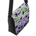 Block On Block, Purple Flap Messenger Bag (S) View2