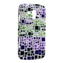 Block On Block, Purple Samsung Galaxy Duos I8262 Hardshell Case  View2