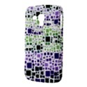 Block On Block, Purple Samsung Galaxy Duos I8262 Hardshell Case  View3