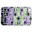 Block On Block, Purple Samsung Galaxy Tab 3 (8 ) T3100 Hardshell Case  View1