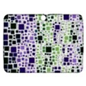 Block On Block, Purple Samsung Galaxy Tab 3 (10.1 ) P5200 Hardshell Case  View1