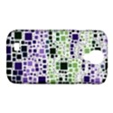 Block On Block, Purple Samsung Galaxy S4 Classic Hardshell Case (PC+Silicone) View1