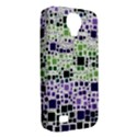 Block On Block, Purple Samsung Galaxy S4 Classic Hardshell Case (PC+Silicone) View2