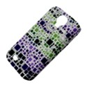 Block On Block, Purple Samsung Galaxy S4 Classic Hardshell Case (PC+Silicone) View4
