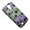 Block On Block, Purple Samsung Galaxy S4 Classic Hardshell Case (PC+Silicone) View5