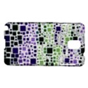 Block On Block, Purple Samsung Galaxy Note 3 N9005 Hardshell Case View1