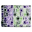 Block On Block, Purple iPad Air Hardshell Cases View1