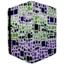 Block On Block, Purple iPad Air Flip View3