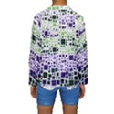 Block On Block, Purple Kids  Long Sleeve Swimwear View2