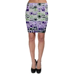 Block On Block, Purple Bodycon Skirt