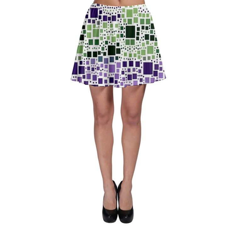 Block On Block, Purple Skater Skirt
