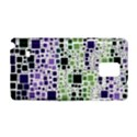 Block On Block, Purple Samsung Galaxy Note 4 Hardshell Case View1