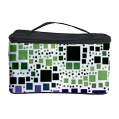 Block On Block, Purple Cosmetic Storage Case