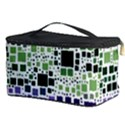 Block On Block, Purple Cosmetic Storage Case View3
