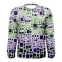 Block On Block, Purple Men s Long Sleeve Tee View1