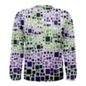 Block On Block, Purple Men s Long Sleeve Tee View2
