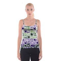 Block On Block, Purple Spaghetti Strap Top